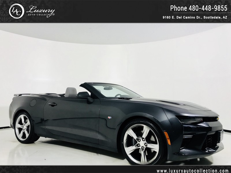 Pre Owned 2018 Chevrolet Camaro Ss Convertible