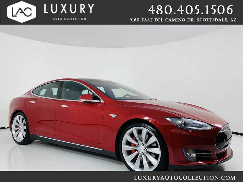Pre Owned Tesla >> 2016 Tesla Model S P90d Awd Performance With Navigation