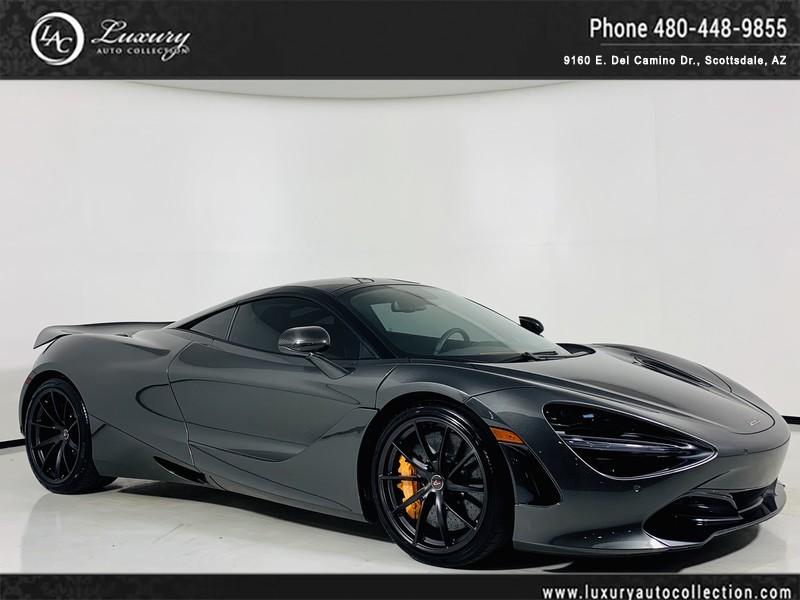 2018 Mclaren 720s Performance Coupe In Storm Grey Scoria Gry Coupe