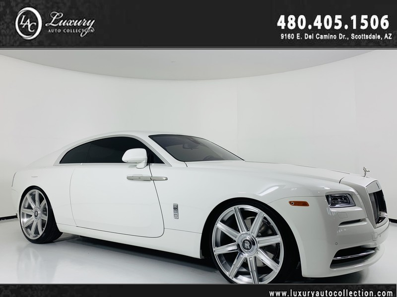 Pre Owned 2016 Rolls Royce Wraith Coupe
