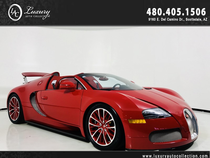 2012 Bugatti Veyron Gransport Fresh Annual Service Tires