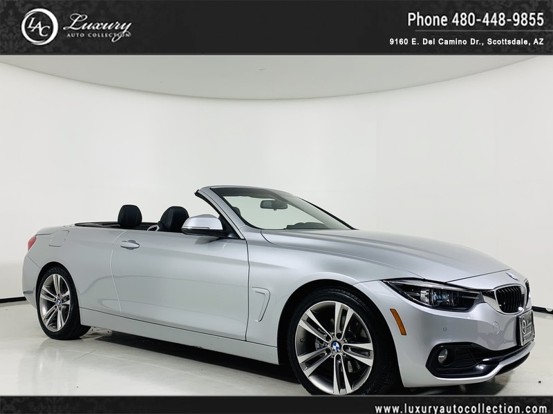 2018 Bmw 4 Series 430i Convertible Convertible In Scottsdale 2607