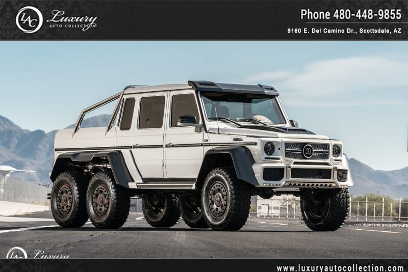 2014 mercedes benz g class g63 6x6 brabus 700 package 50 state emission pickup truck in. Black Bedroom Furniture Sets. Home Design Ideas