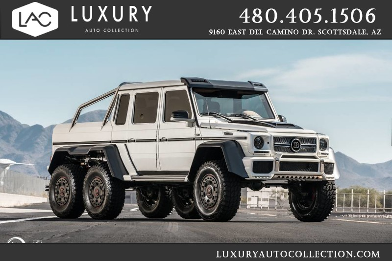 2014 Mercedes Benz G Class G 63 Amg 6x6 Brabus B700 Package Suv In