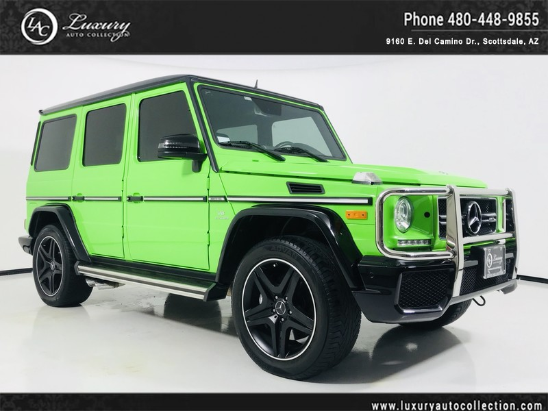 Pre Owned 2016 Mercedes Benz G Cl Amg 63 4matic In