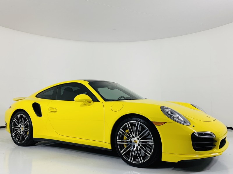 All Wheel Drive Coupe Pre Owned 2016 Porsche 911 Turbo