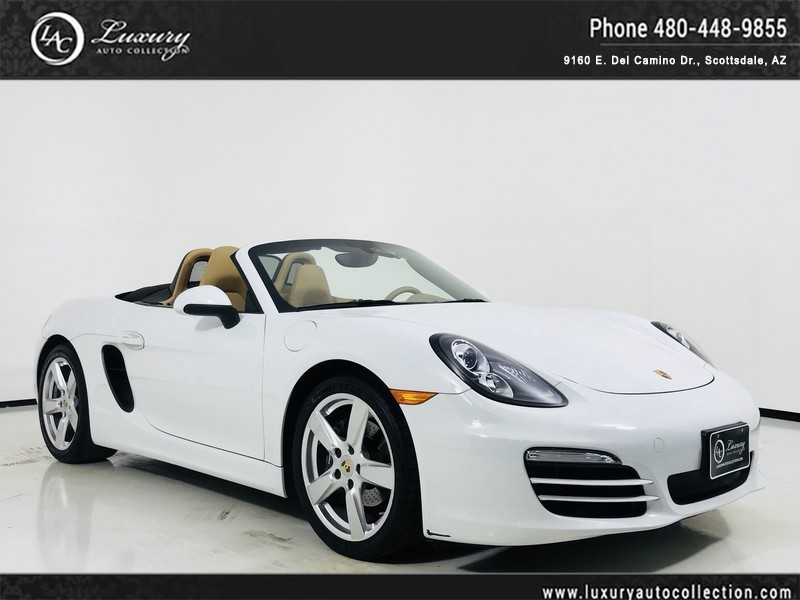 2014 Porsche Boxster Roadster Convertible In Scottsdale 2446