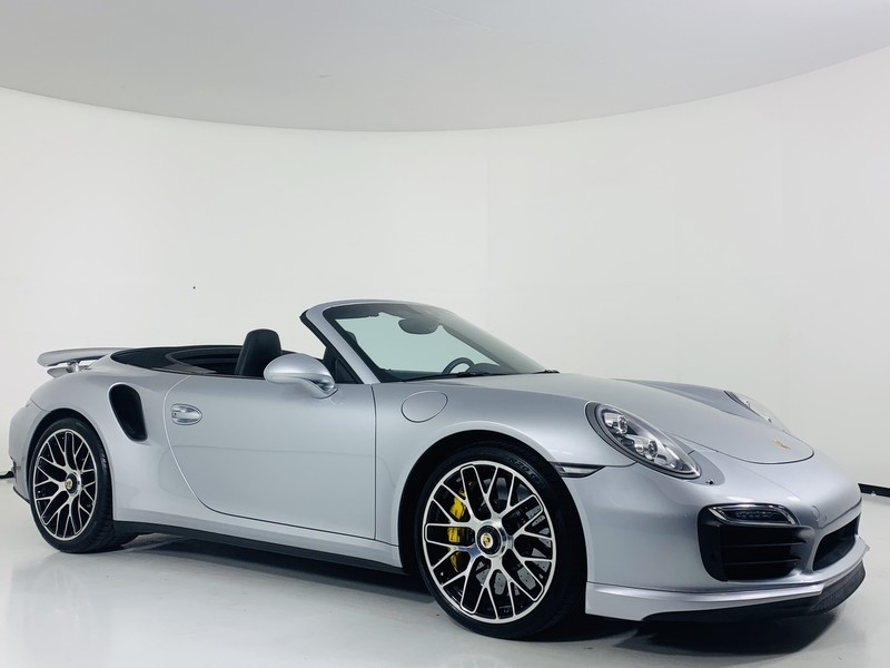 Pre Owned 2017 Porsche 911 Turbo S Cabriolet