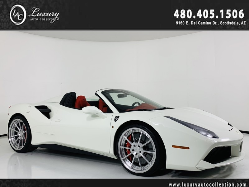 Pre Owned 2017 Ferrari 488 Spider Convertible